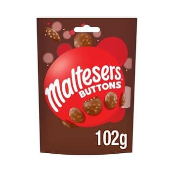 Maltesers Buttons Chocolate Pouch 102G