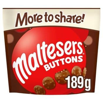 Maltesers Buttons More To Share Pouch 189G