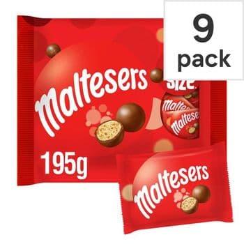 Maltesers Fun Size 9 Pack 195G