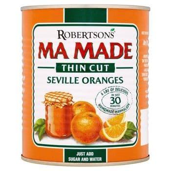 Mamade Prepared Seville Oranges Thin Cut 850G