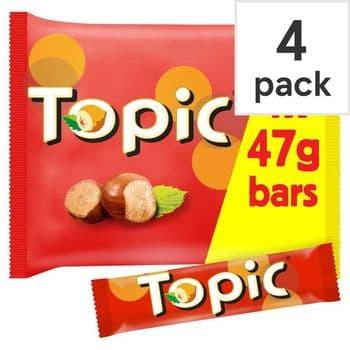 Mars Topic 4 Pack 188G