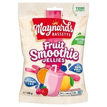 Maynards Bassetts Fruit Smoothie Jelly 130G