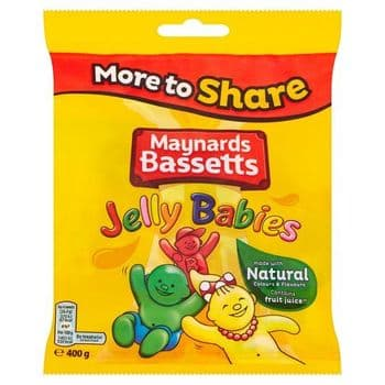 Maynards Bassetts Jelly Babies 400G