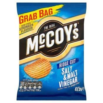 Mccoys Salt & Vinegar Crisps 47.5G