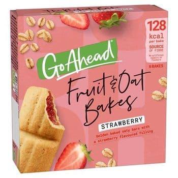 Mcvitie Go Ahead Strawberry Bakes 6X35g