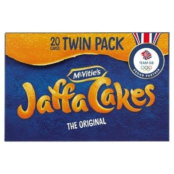 Mcvitie's Jaffa Cakes Twin Pack 244G