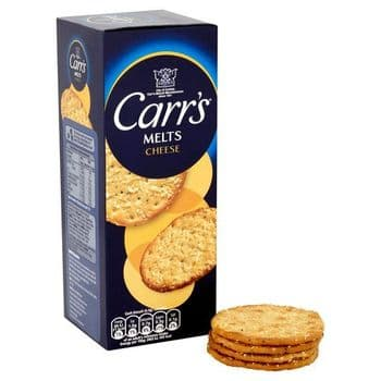 Mcvities Carrs Cheese Melts 150
