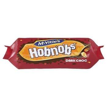 Mcvities Dark Chocolate Hobnob 262G