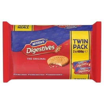 Mcvities Digestive Twin Pack 2X400g