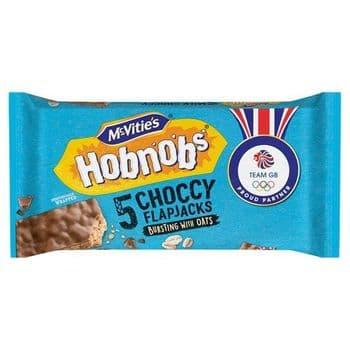 Mcvities Hobnobs Chocolate Flap Jack 5 Pack 148.5G