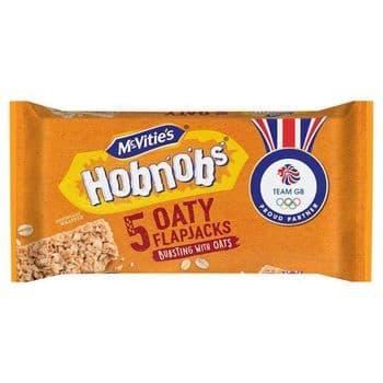 Mcvities Hobnobs Oaty Flap Jack 5 Pack 148.5G