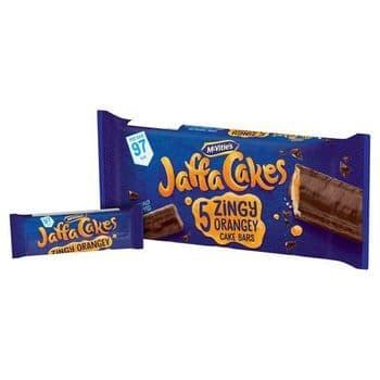 Mcvities Jaffa Cakes Cake Bars 5 Pack