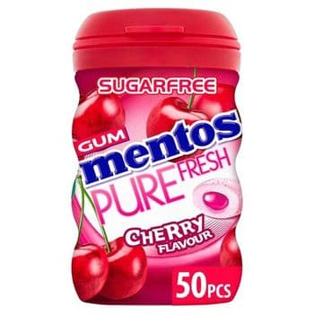Mentos Pure Fresh Cherry Chewing Gum 97G