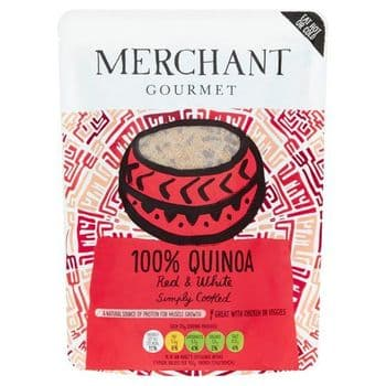 Merchant Gourmet Red & White Quinoa 250G