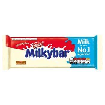 Milkybar White Chocolate Sharing Bar 90G