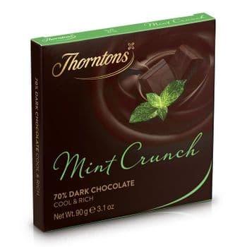 Mint Crunch Dark Chocolate Block (90g)