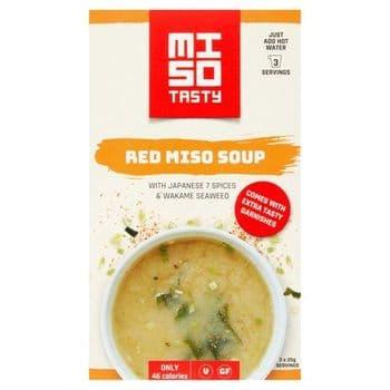 Miso Tasty Spicy Miso Soup Kit 3X20g