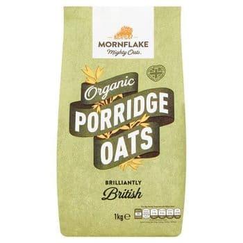 Mornflake Organic Porridge Oats 1Kg