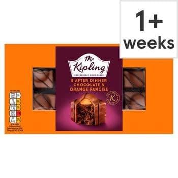 Mr Kipling 8 Chocolate Orange Fancies
