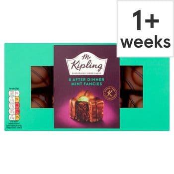 Mr Kipling 8Pack After Dinner Mint Fancies