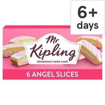 Mr Kipling Angel Slice 6 Pack