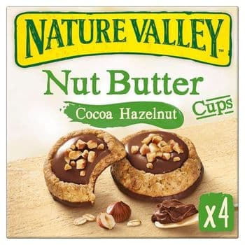 N/Vallley Nut Butter Cocoa Hazelnut Cups 4X35g