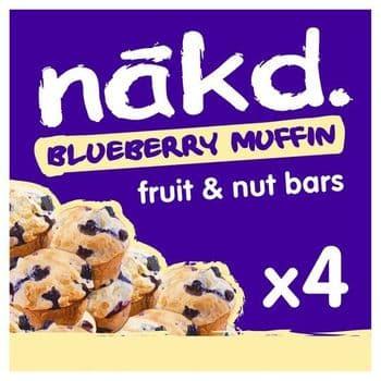 Nakd Blueberry Muffin 4X35g