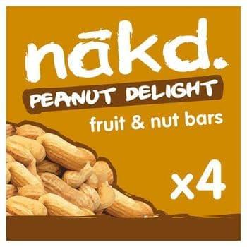 Nakd Peanut Delight 4X35g