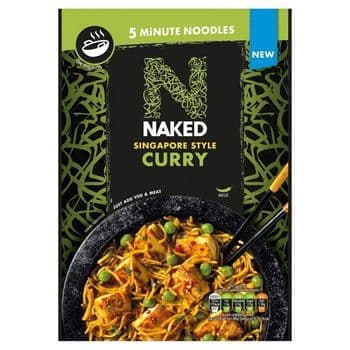 Naked Singapore Style Curry Noodles 100G