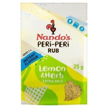 Nando's Peri Peri Rub Lemon & Herb 25G