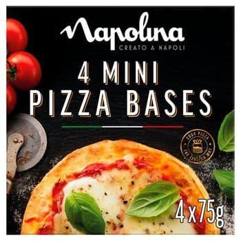 Napolina Mini Pizza Bases 300G