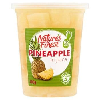 Nature's Finest Pineapple In Juice 400G