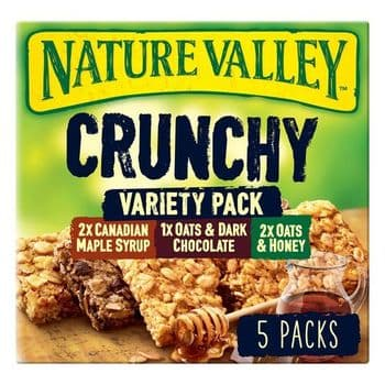 Nature Valley Crunchy Granola Variety Cereal Bars 5 X 42G