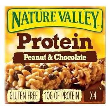 Nature Valley Protein Peanut & Chocolate Bars 4X40g