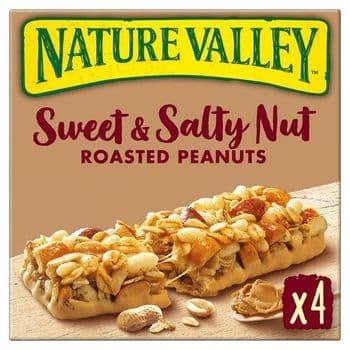 Nature Valley Sweet & Salty Nut Peanut Bars 4X30g