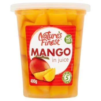 Natures Finest Mango In Juice 400G