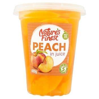 Natures Finest Peach Slices 400G