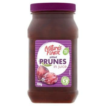 Natures Finest Pitted Prunes In Juice 700G