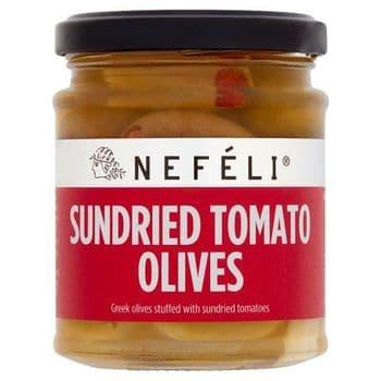 Nefeli Sun Dried Tomato Olives 185G