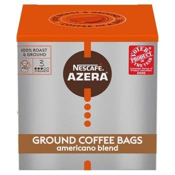 Nescafe Azera Americano Coffee Bags 10S 80G