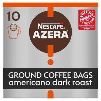 Nescafe Azera Espresso Roast Coffee Bags 10S 80G