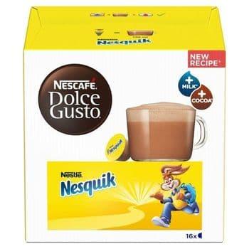 Nescafe Dolce Gusto Nesquik Chocolate Pods X16 256G