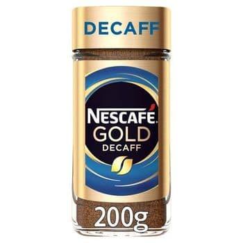 Nescafe Gold Blend Decaffeinated Coffee 200G