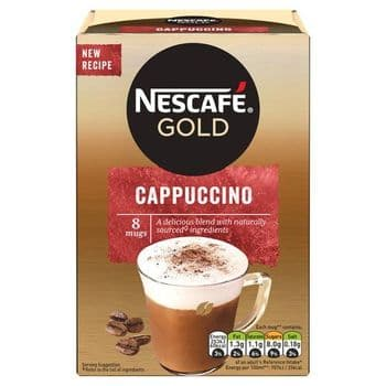 Nescafe Gold Cappuccino 8 Sachets 124G