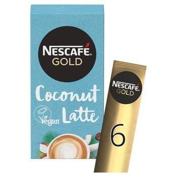 Nescafe Gold Coconut Latte (6X15g)