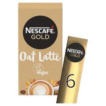 Nescafe Gold Oat Latte (6X16g)