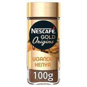 Nescafe Gold Origins Uganda Kenya 100G