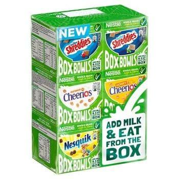 Nestle Box Bowls Cereal 6 Pack 210G