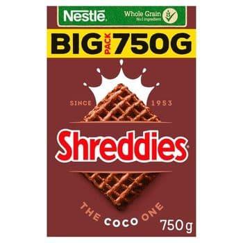 Nestle Coco Shreddies Cereal 750G
