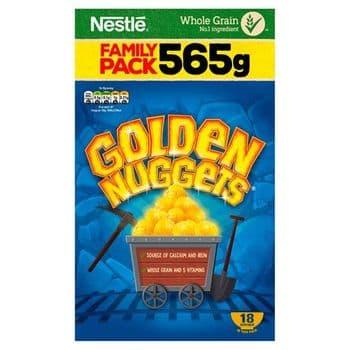 Nestle Golden Nuggets Cereal 565G
